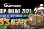WSOP Online 2021への使用について / 選手契約